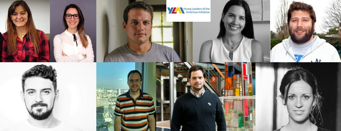 Argentine Entrepreneurs selected for the YLAI Professional Fellows Program